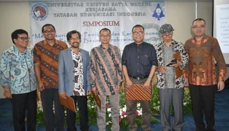 Diskusi tentang usulan pendeta Basuki Probowinoto menjadi pahlawan NAsional , di aula PGI, Salemba Jakarta, Kamis (10/11/2016)